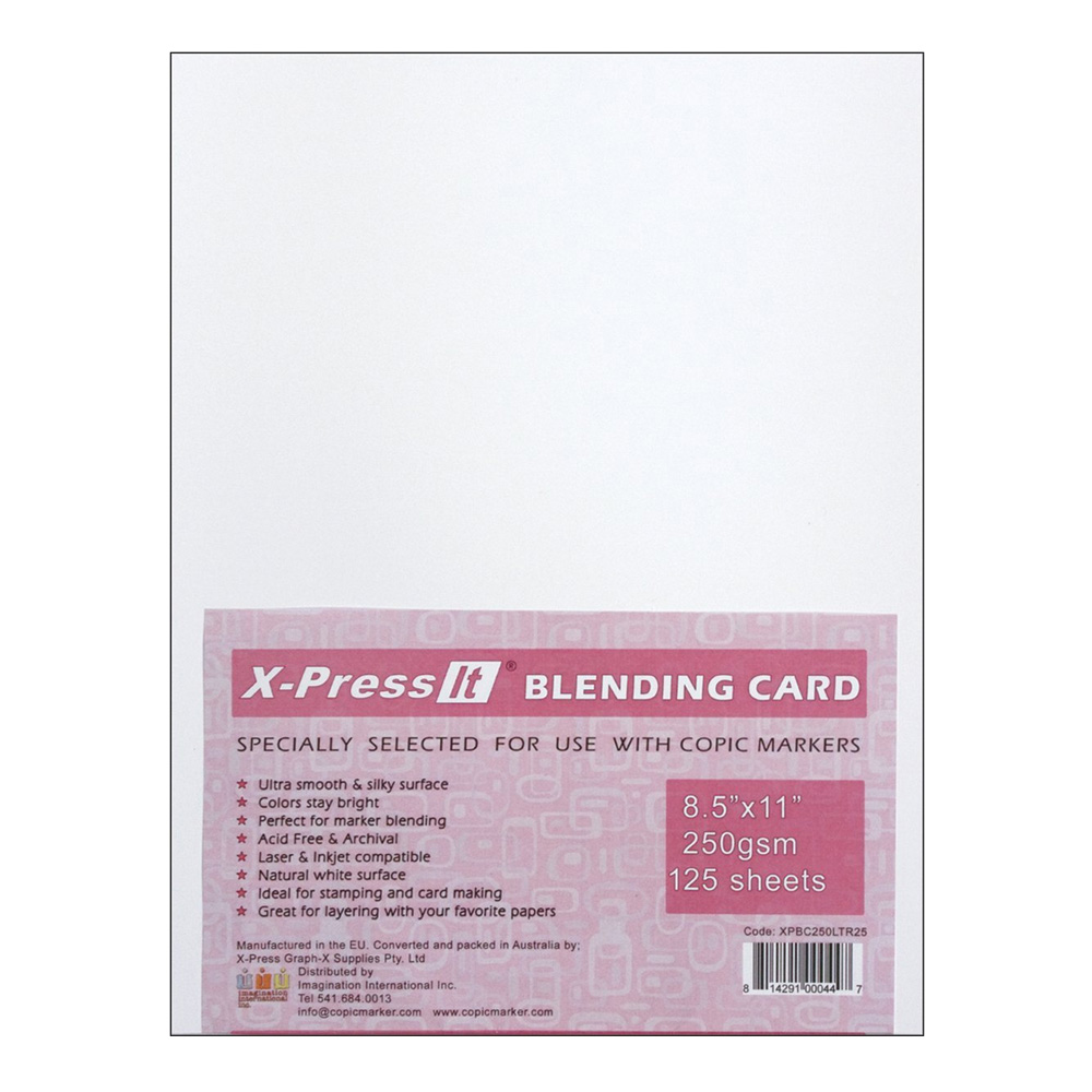 Copic Marker X-Press It Blending Card 125/Sh