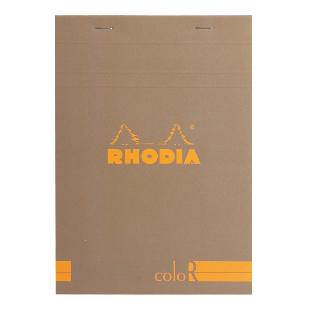 Rhodia ColorR Pad Lined 3.4X4.75 Taupe