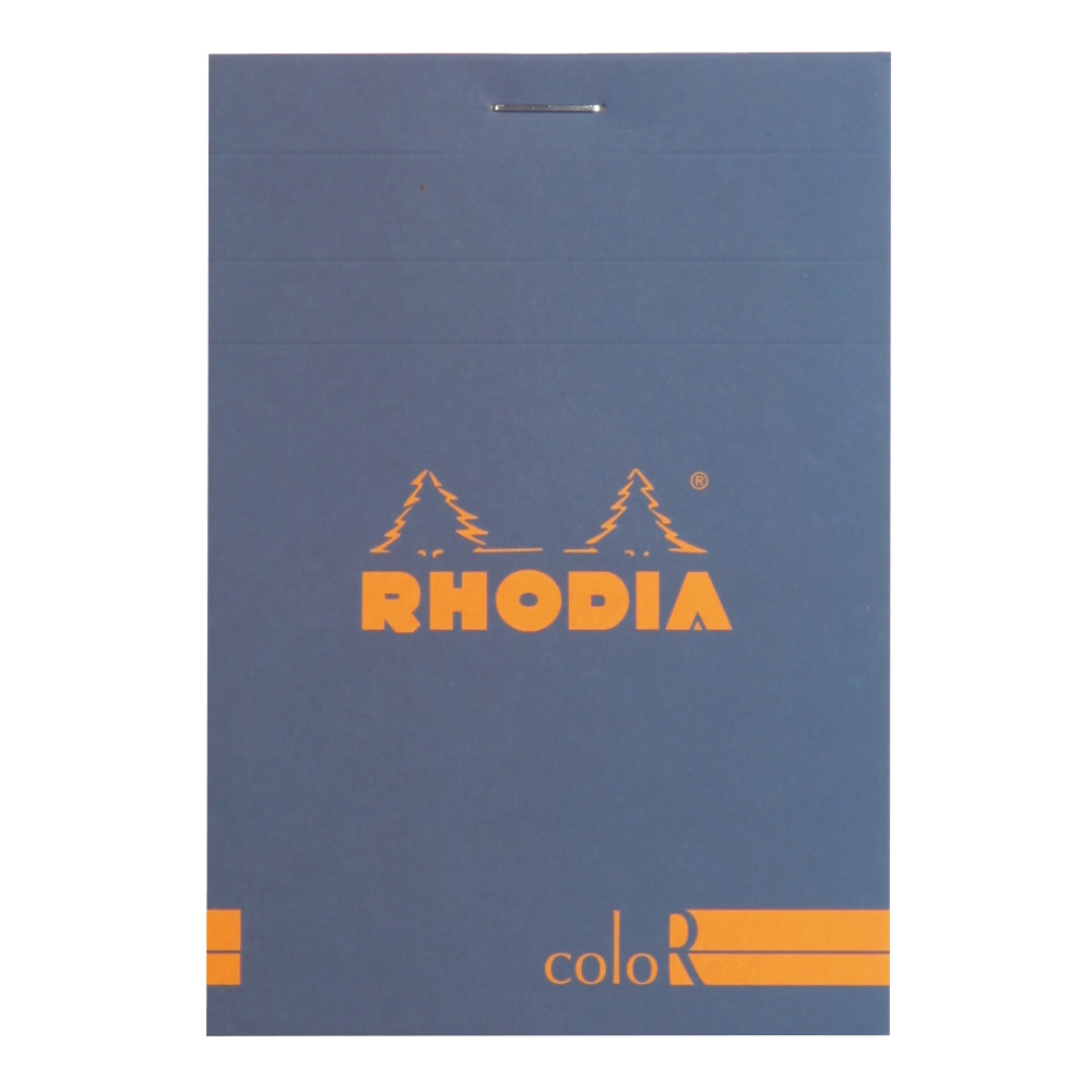 Rhodia ColorR Pad Lined 3.4X4.75 Sapphire