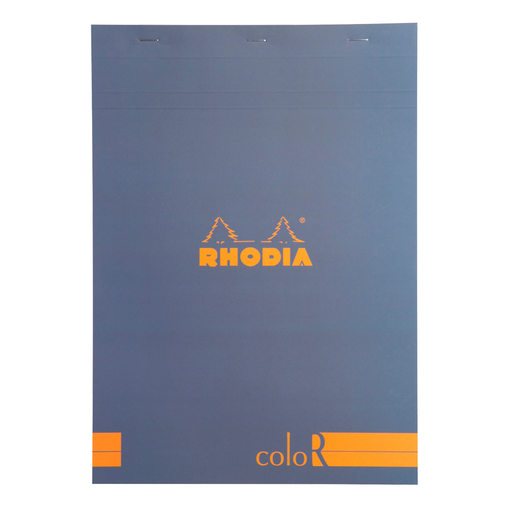Rhodia ColorR Pad Lined 8.25X11.75 Sapphire