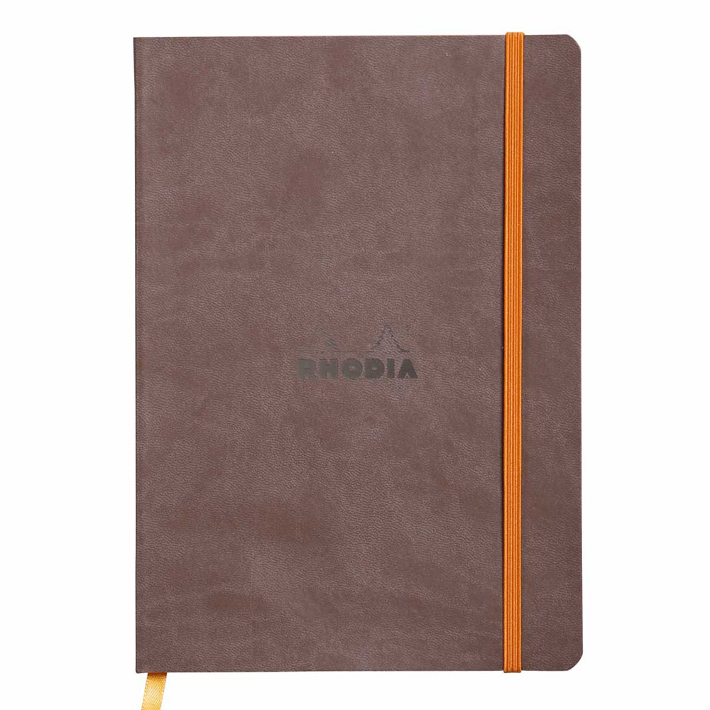 Rhodiarama Notebook Chocolate 6X8.25 Lined