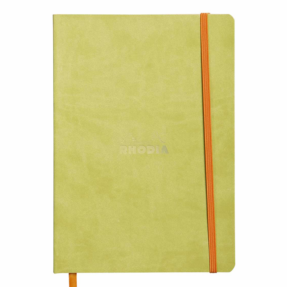 Rhodiarama Notebook Anise 6X8.25 Lined