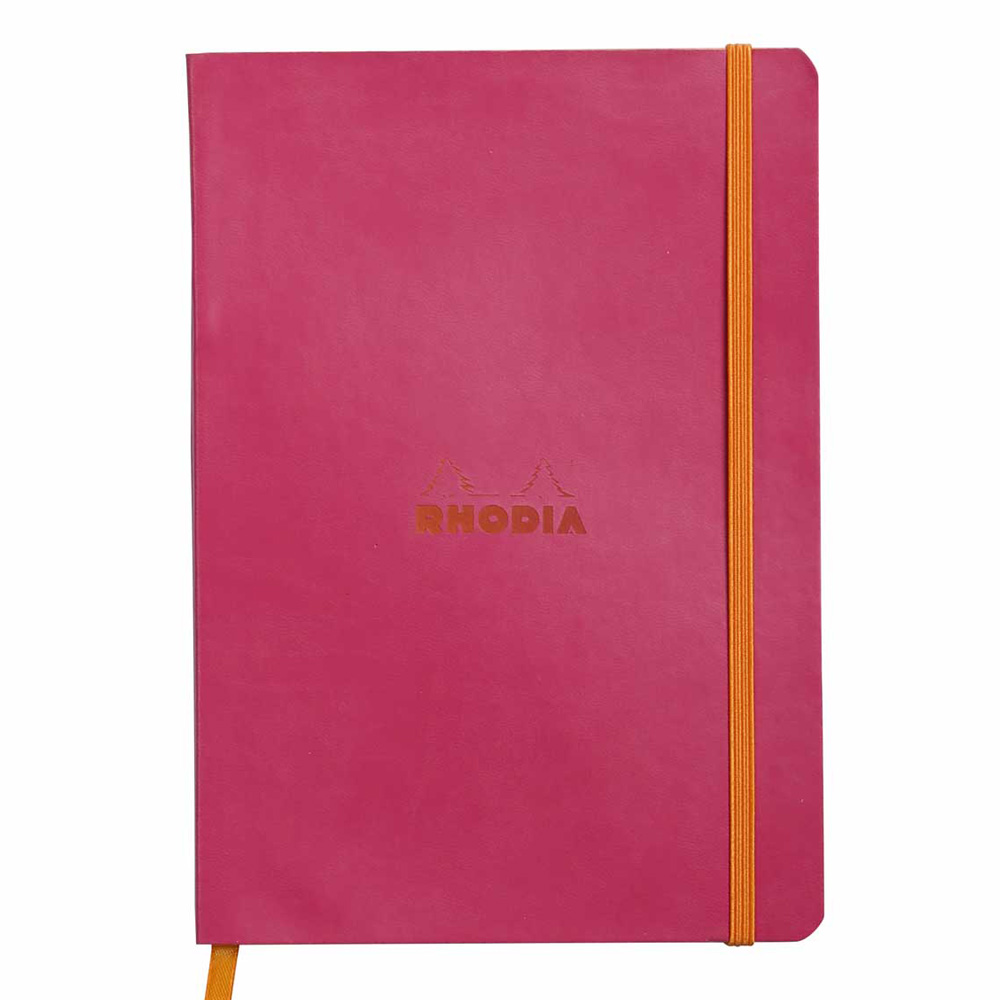 Rhodiarama Notebook Raspberry 6X8.25 Lined