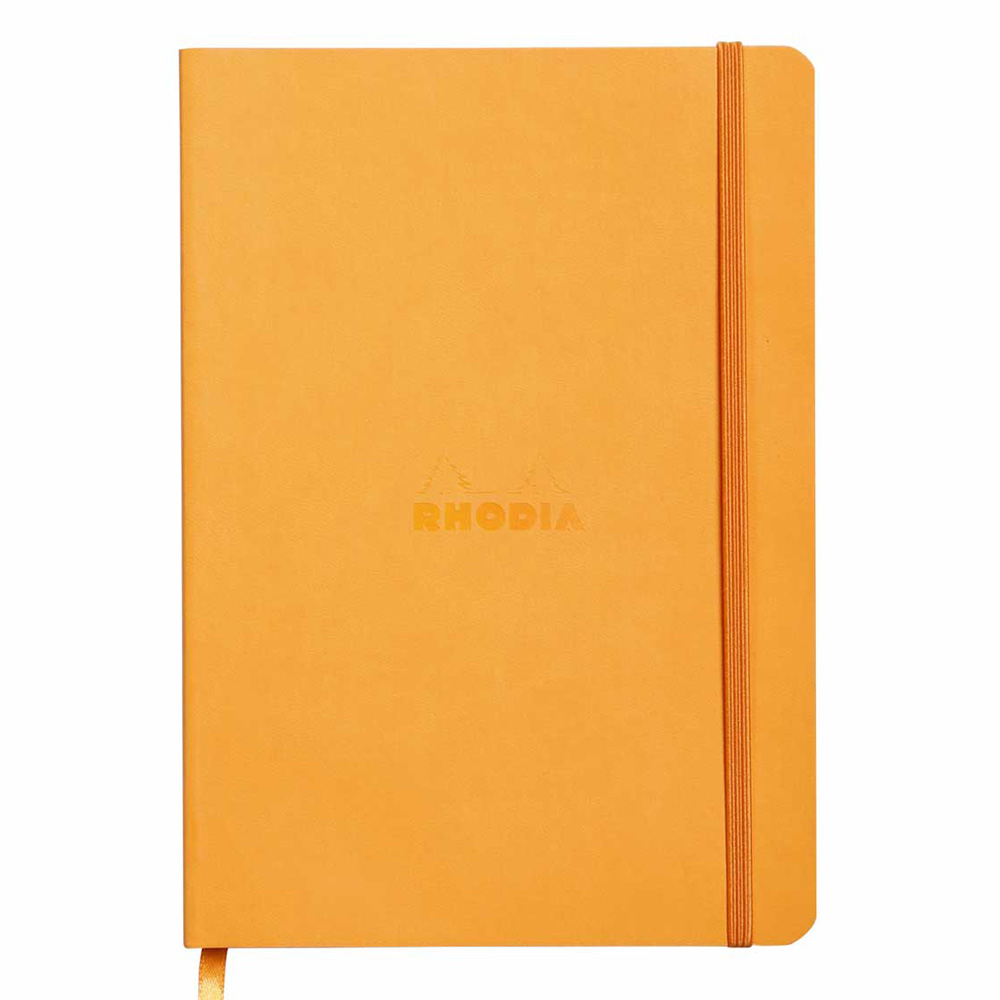 Rhodiarama Notebook Orange 6X8.25 Lined