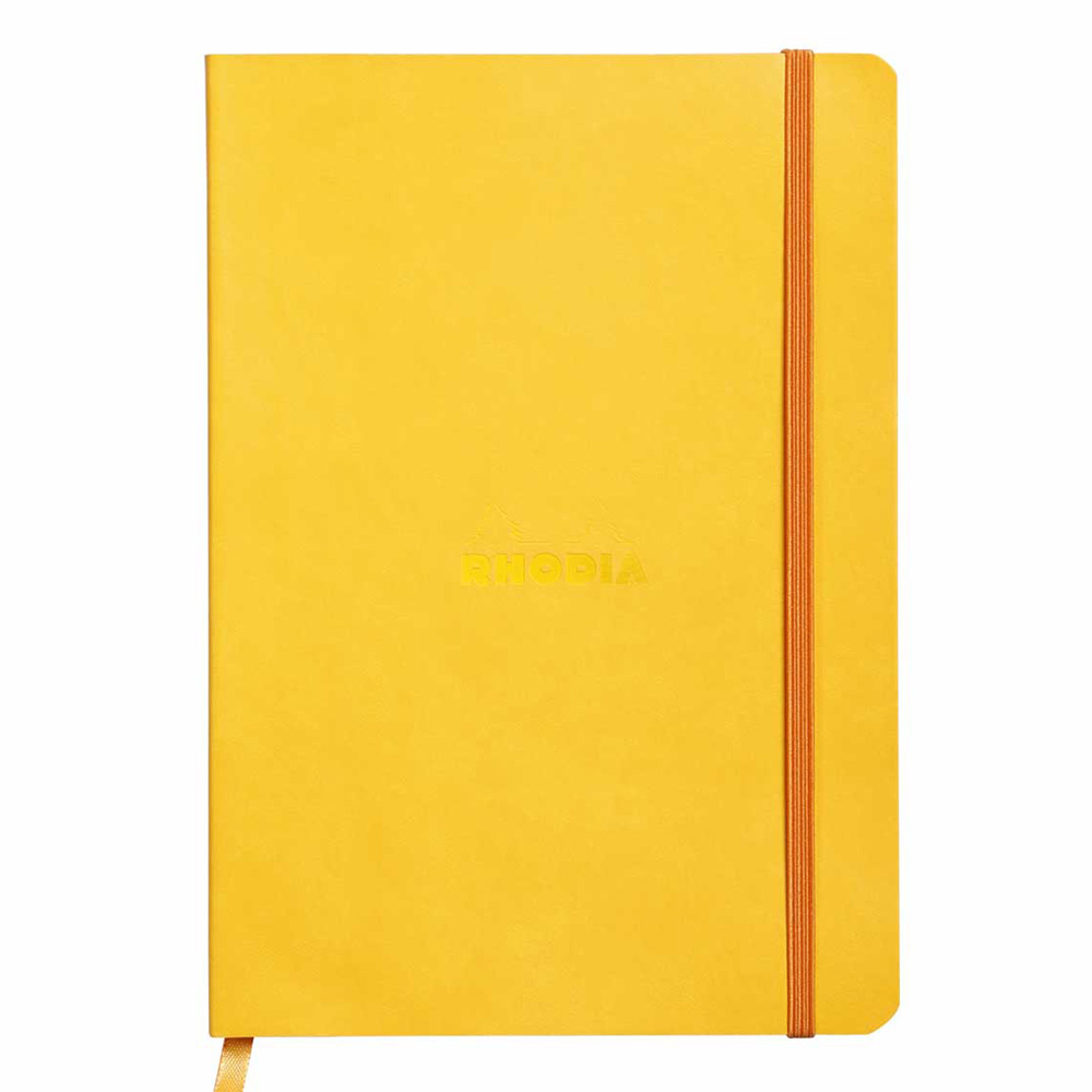 Rhodiarama Notebook Yellow 6X8.25 Lined