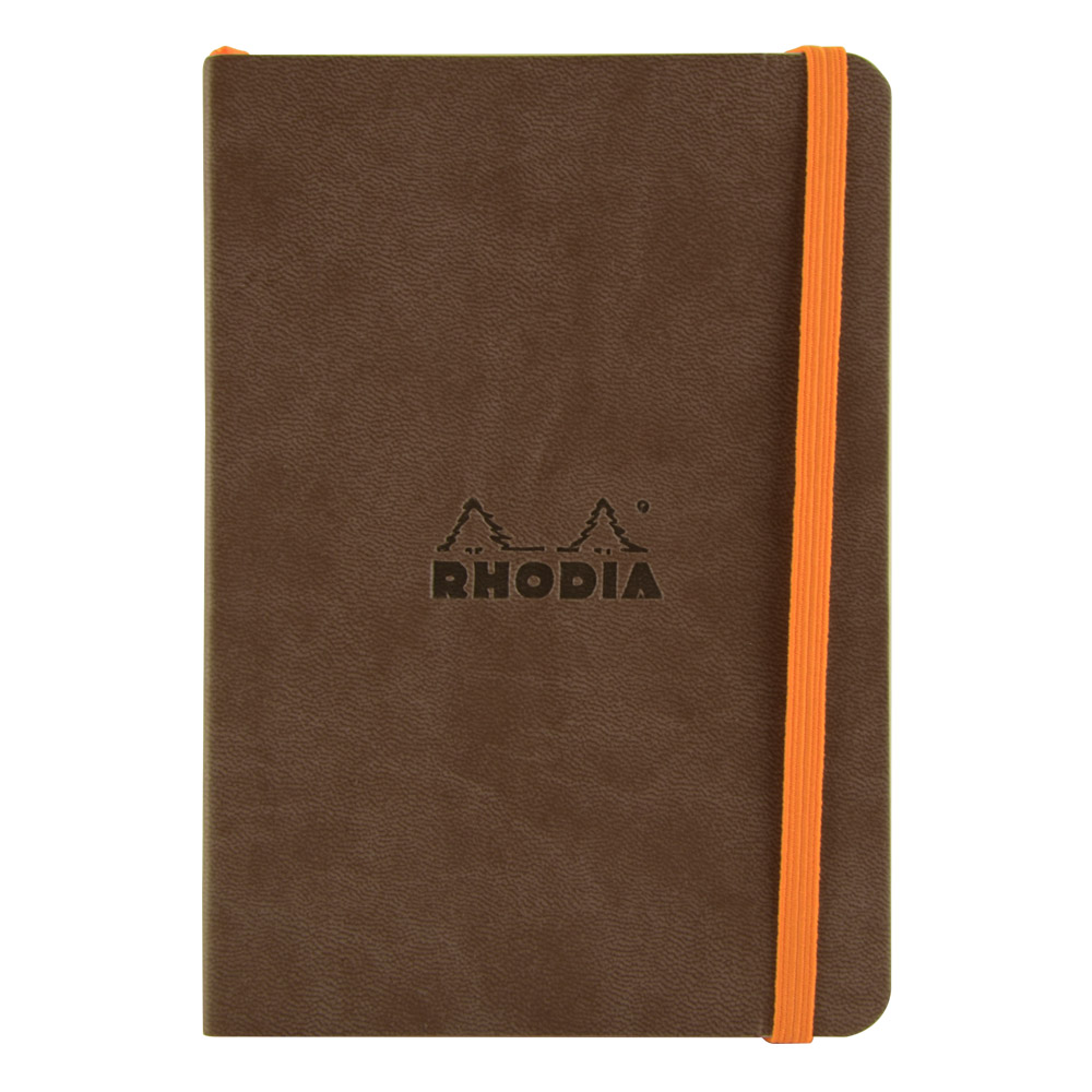 Rhodiarama Dot 4X6 inch Chocolate Notebook