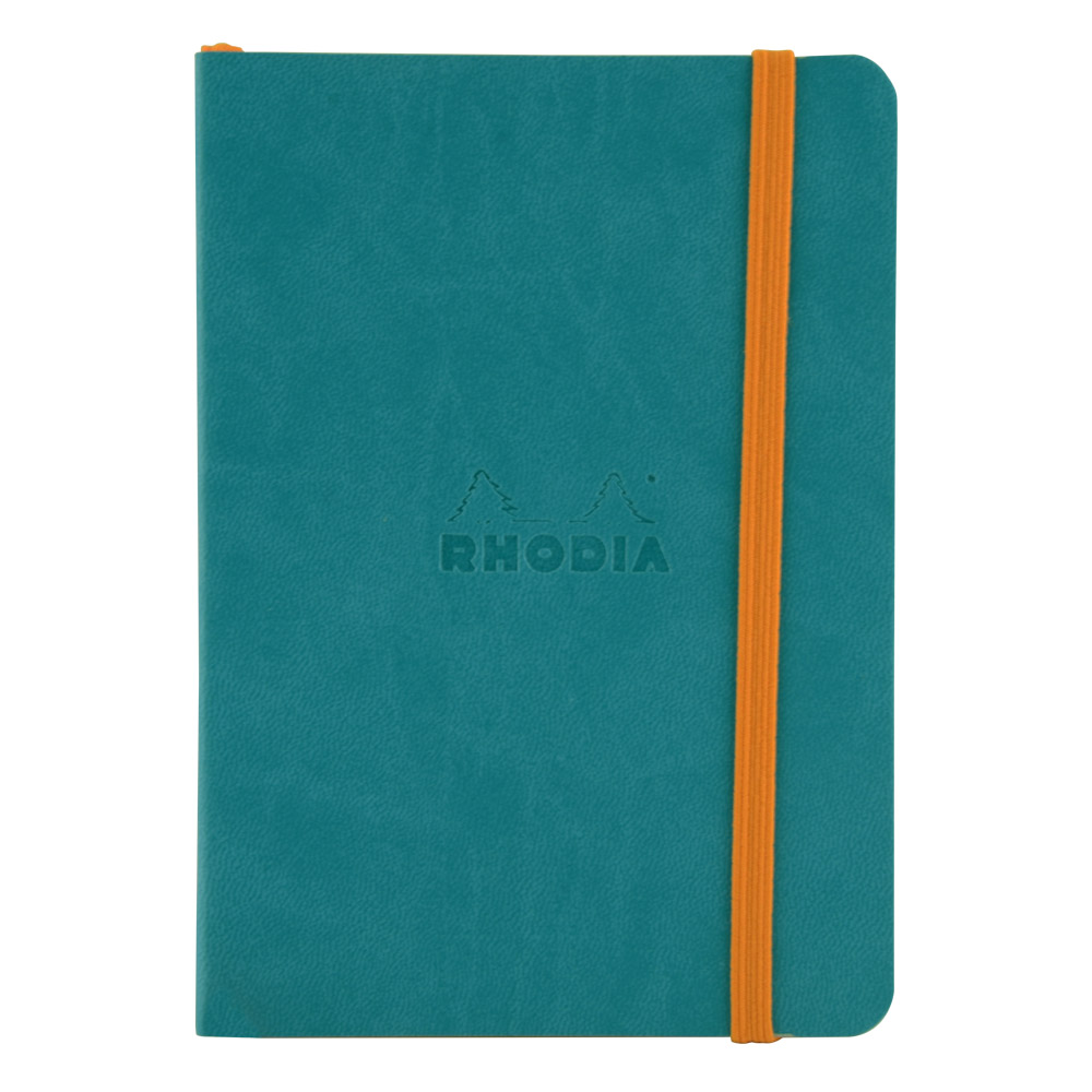 Rhodiarama Dot 4X6 inch Turquoise Notebook