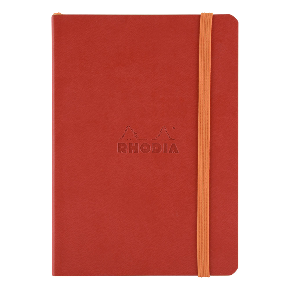 Rhodiarama Dot 4X6 inch Poppy Notebook