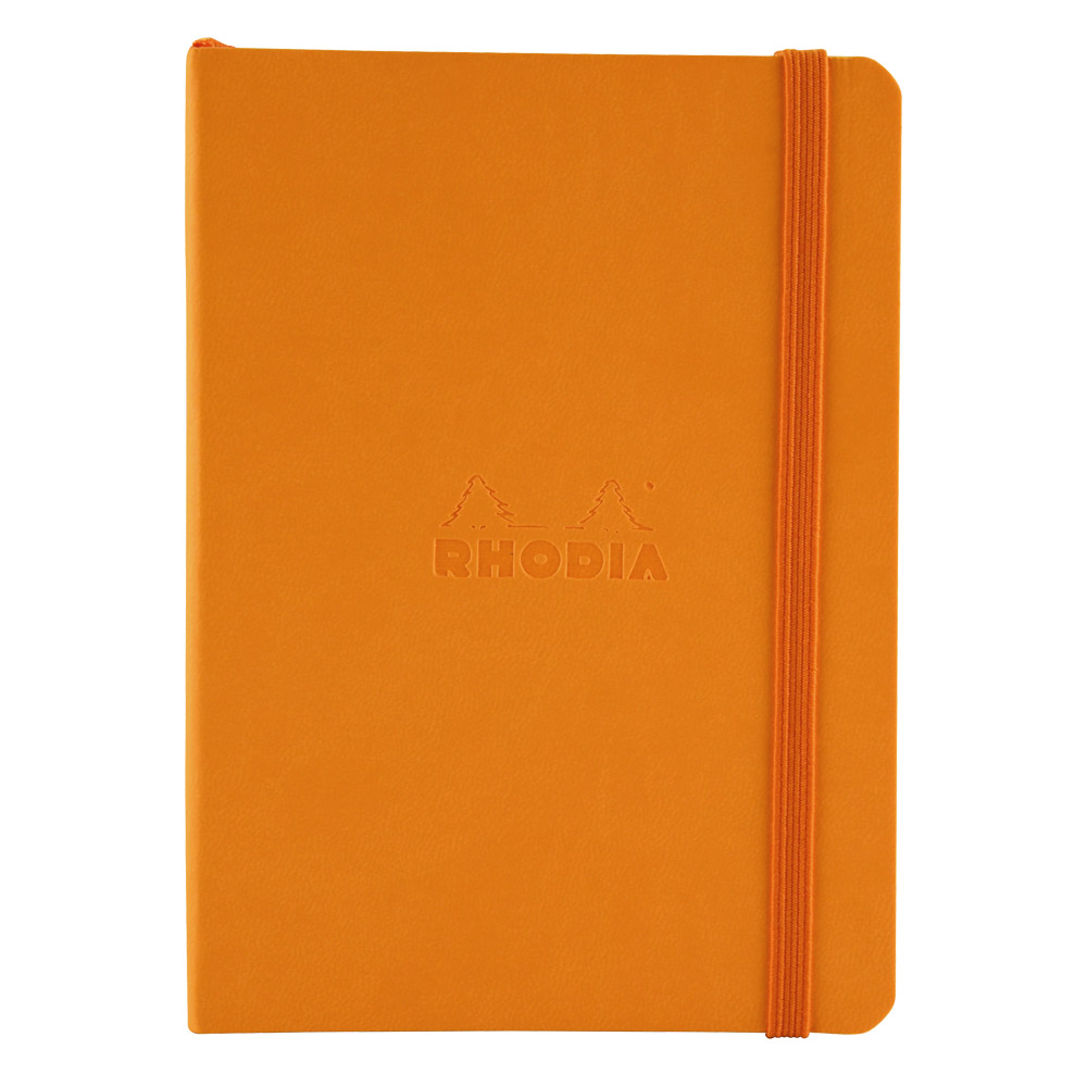 Rhodiarama Dot 4X6 inch Orange Notebook