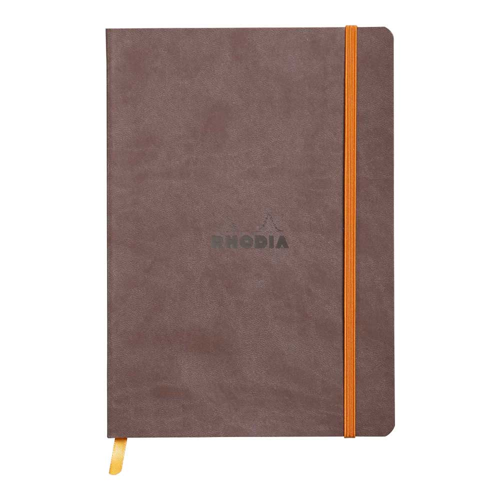 Rhodiarama Dot 6X8.25 inch Chocolate Notebook