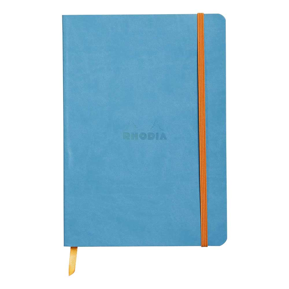 Rhodiarama Dot 6X8.25 inch Turquoise Notebook