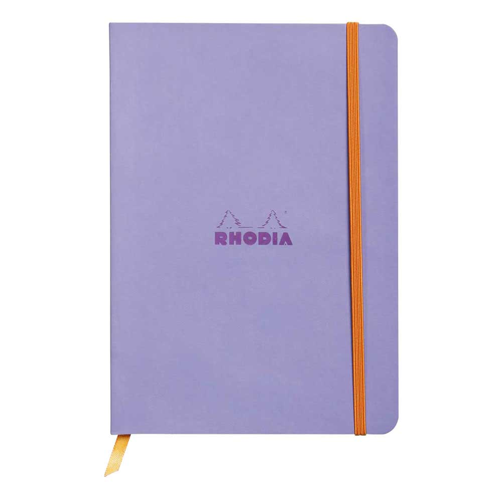 Rhodiarama Dot 6X8.25 inch Iris Notebook