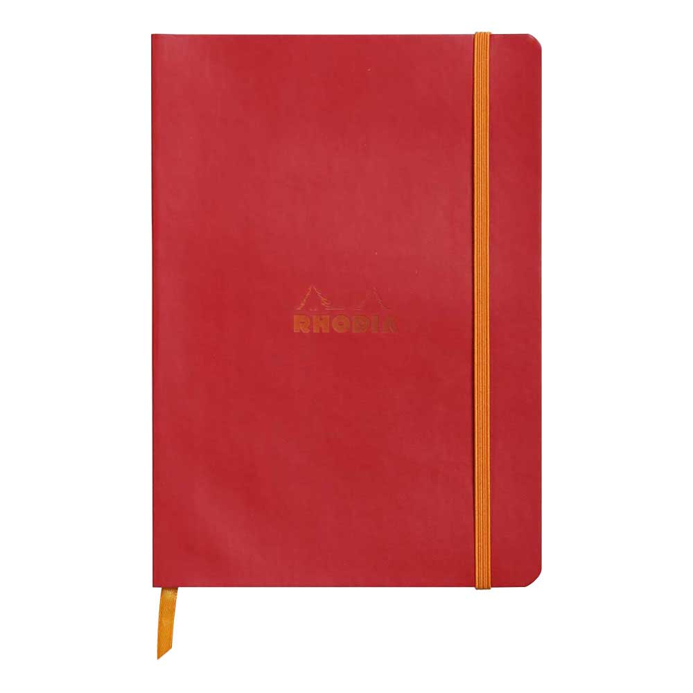 Rhodiarama Dot 6X8.25 inch Poppy Notebook