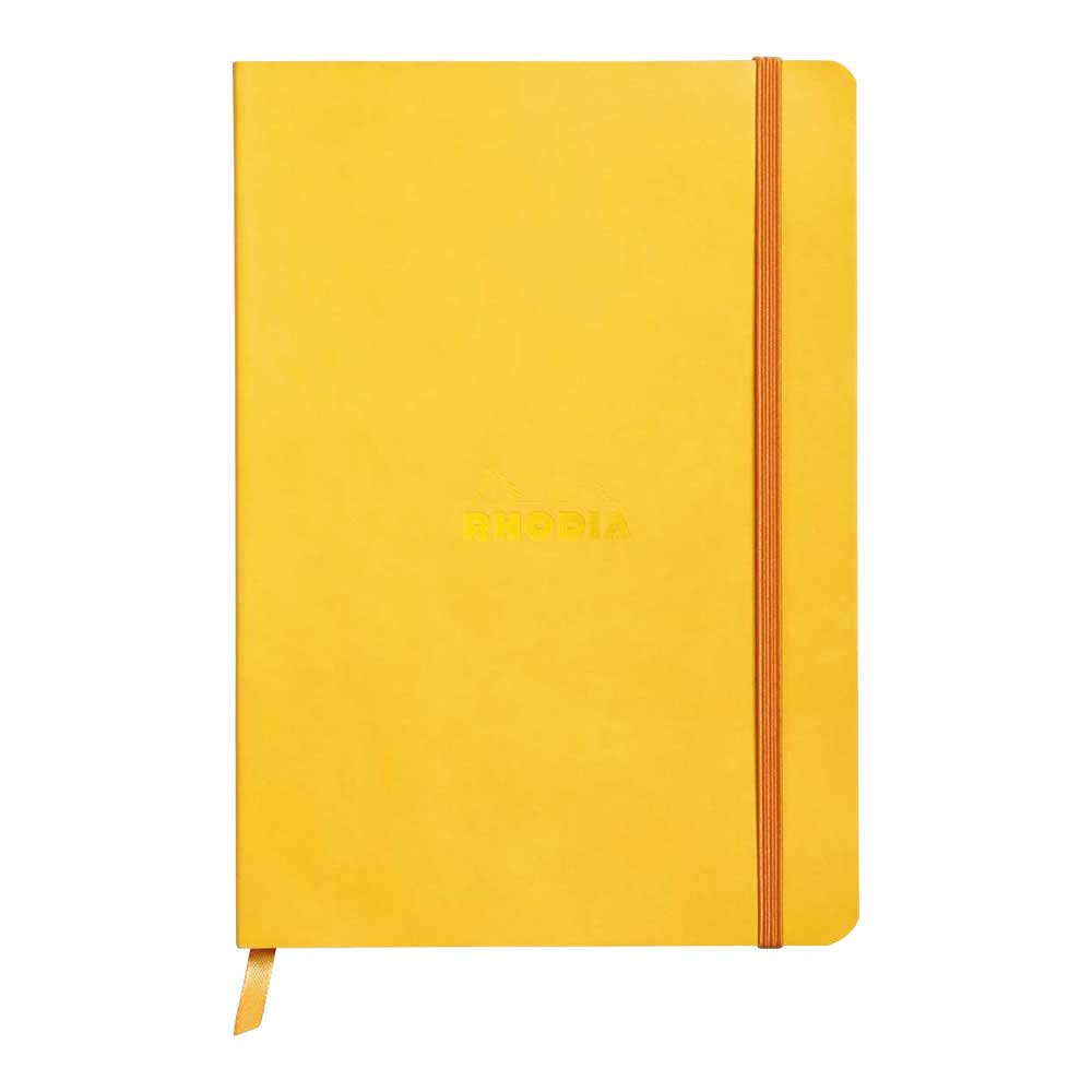 Rhodiarama Dot 6X8.25 inch Yellow Notebook