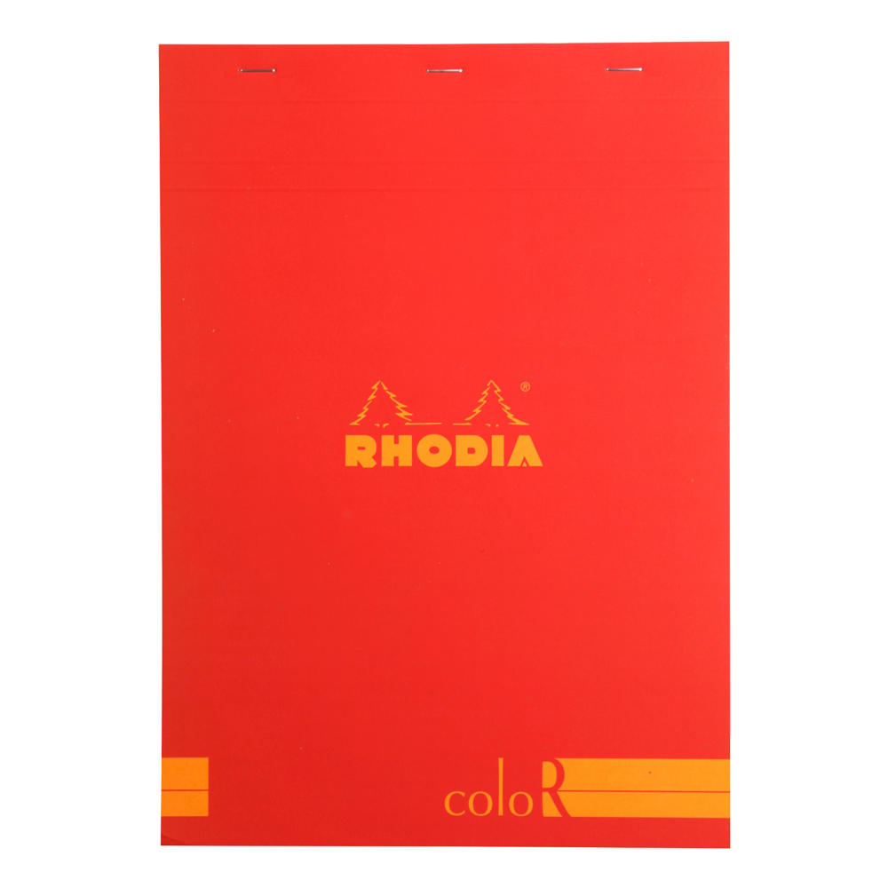 Rhodia ColorR Pad Lined 8.25X11.75 Poppy