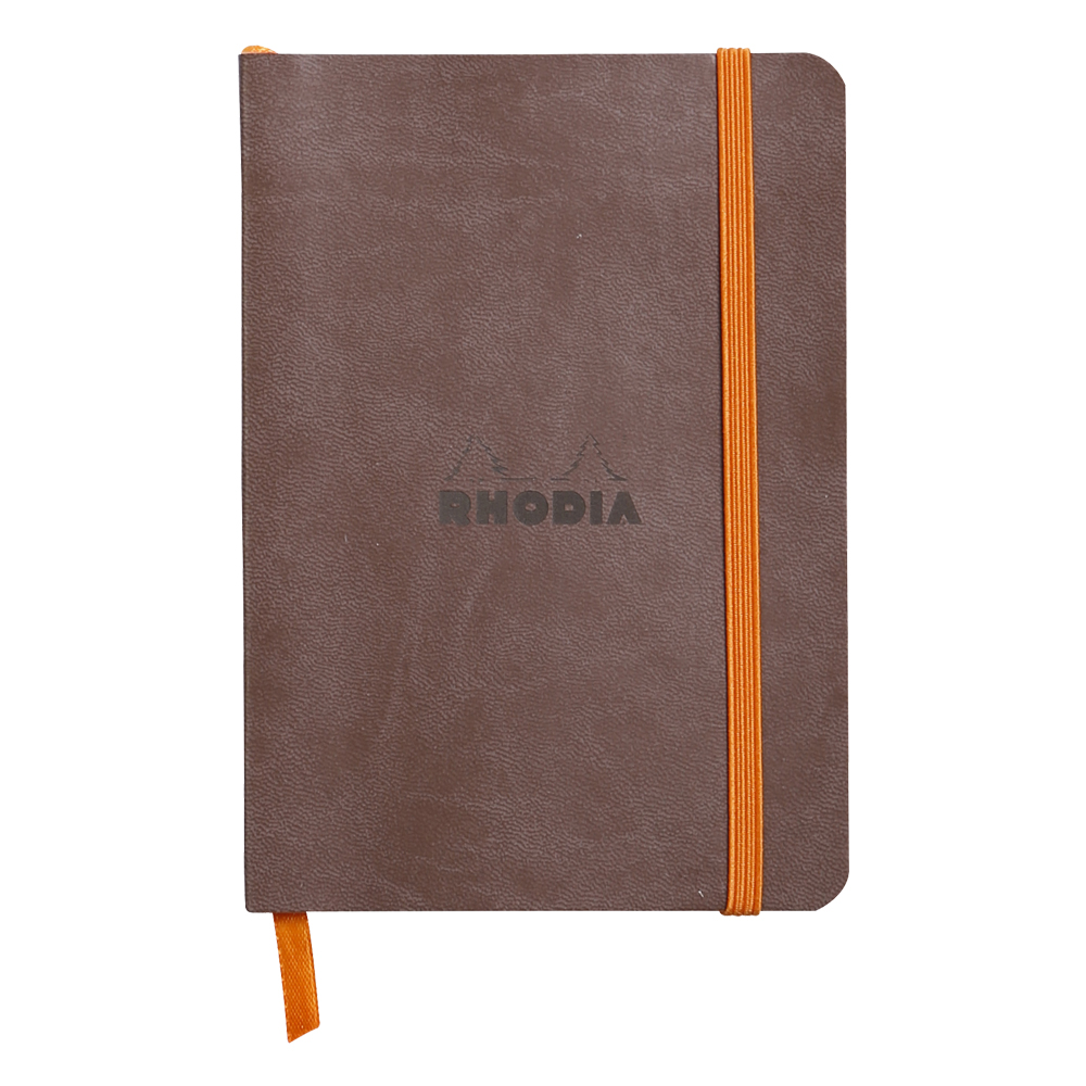 Rhodiarama Lined 4X6 inch Chocolate Notebook