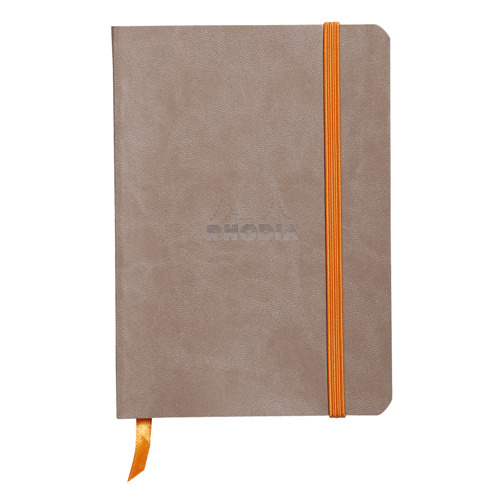 Rhodiarama Lined 4X6 inch Taupe Notebook