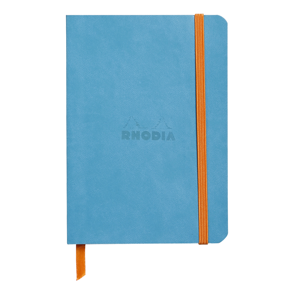 Rhodiarama Lined 4X6 inch Turquoise Notebook