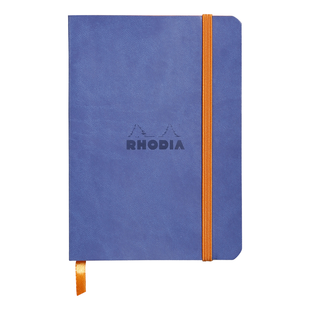 Rhodiarama Lined 4X6 inch Sapphire Notebook