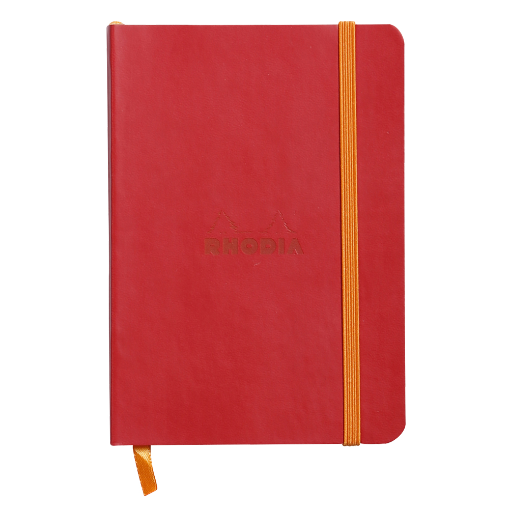 Rhodiarama Lined 4X6 inch Poppy Notebook