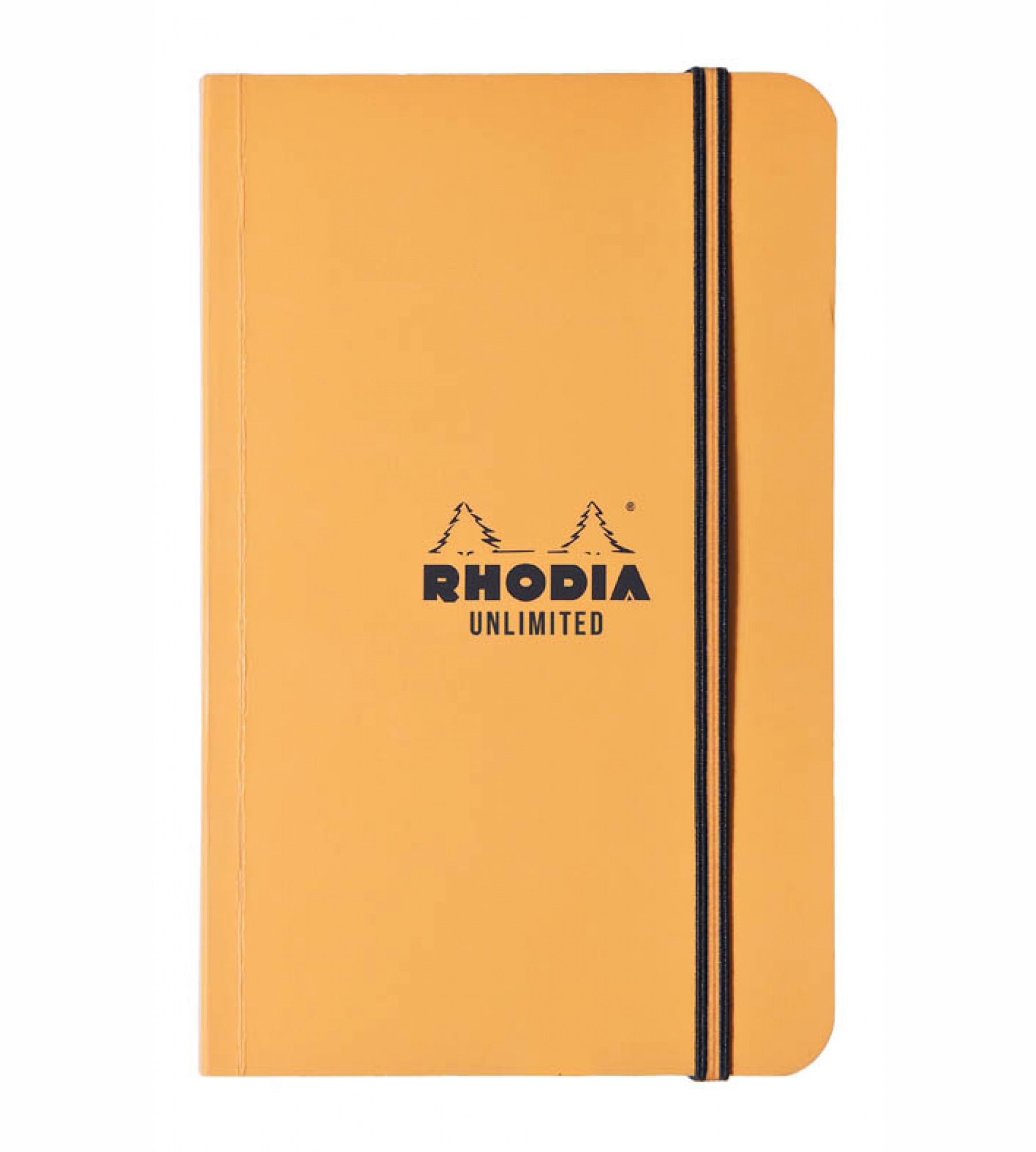 Rhodia Orange Unlimited Ntbk 3.5X5.5 Lined