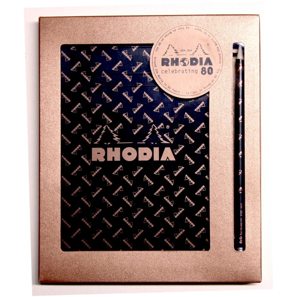 Rhodia 80Th Anniversary Pad Limited Edition