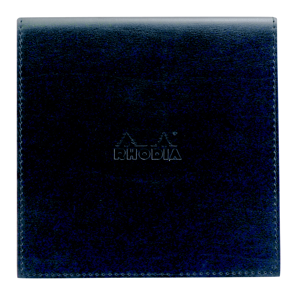 Rhodia Pad Holder W/Pad 5.75X5.75 Black