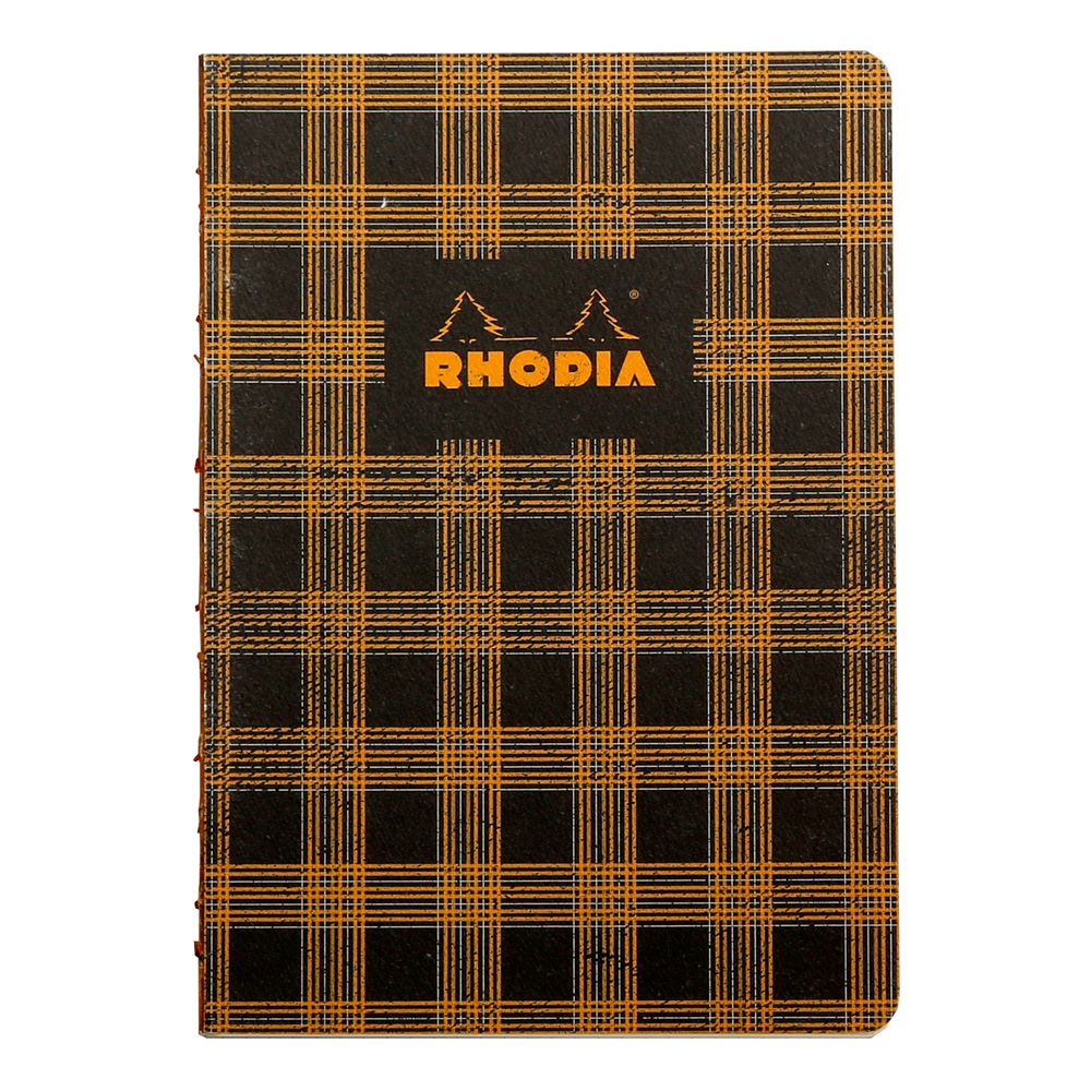 Heritage Book block Notebook Tartan Lined