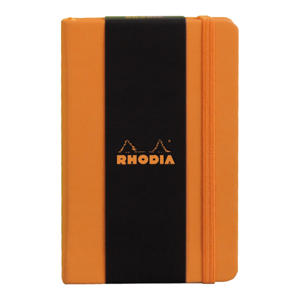 Rhodia Orange Webnotebook 5.5X8.25 Blank