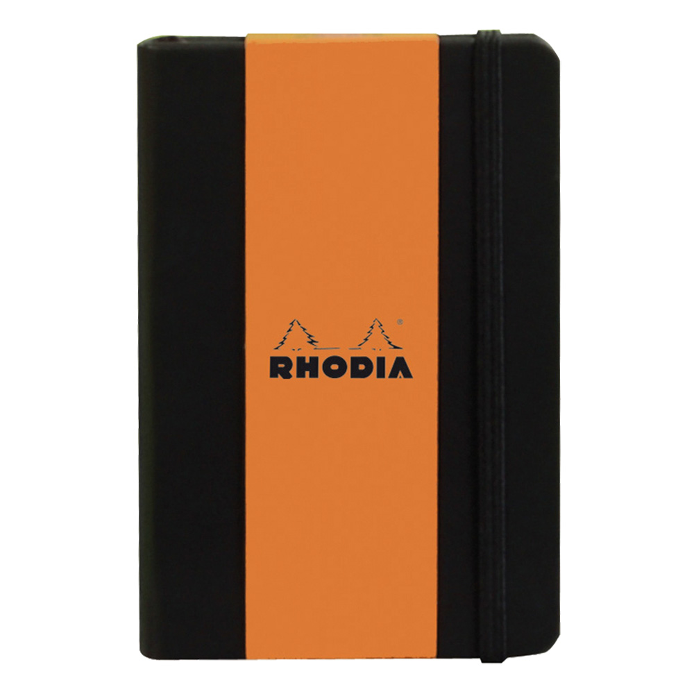 Rhodia Black Webnotebook 5.5X8.25 Dot Grid