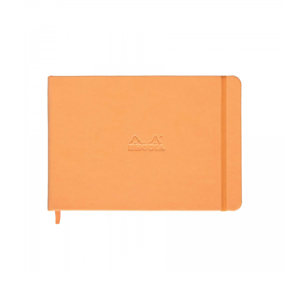 Rhodia Orange Landscape Webnotebook Blank