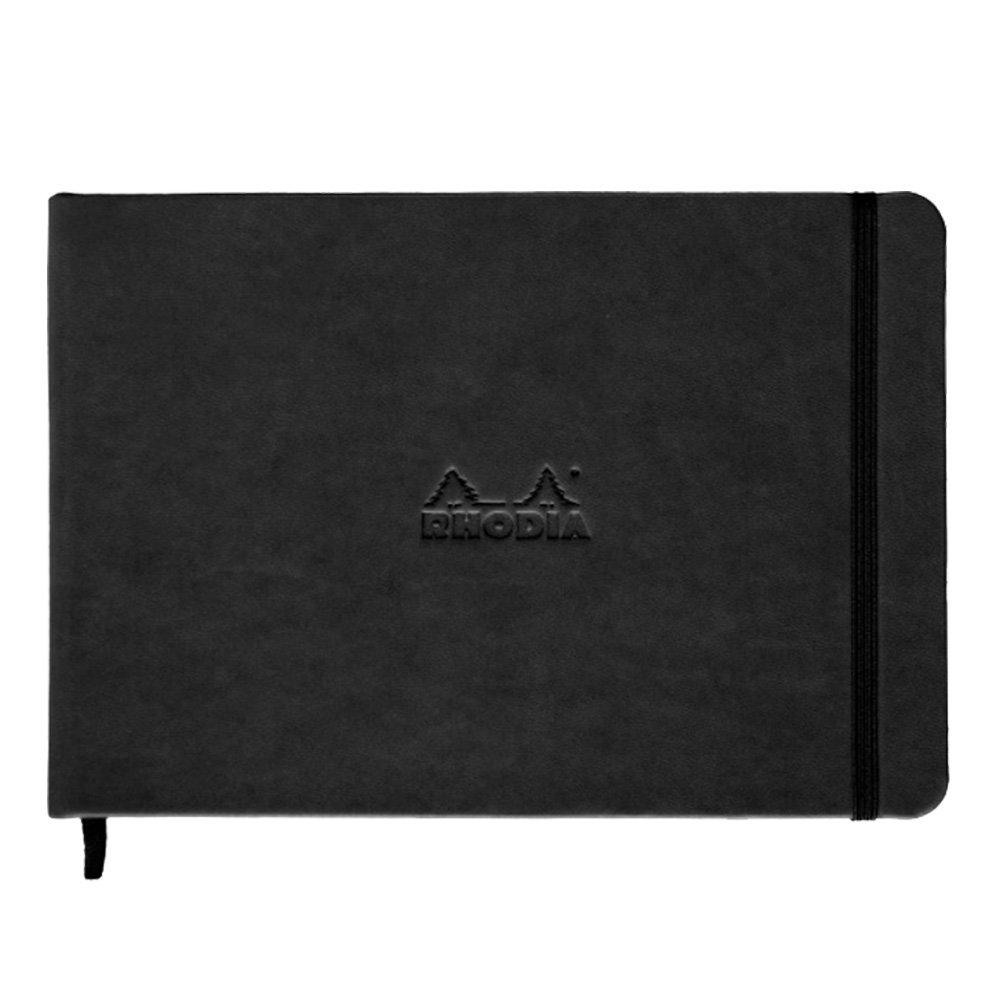 BUY Rhodia Black Landscape Webnotebook Lined