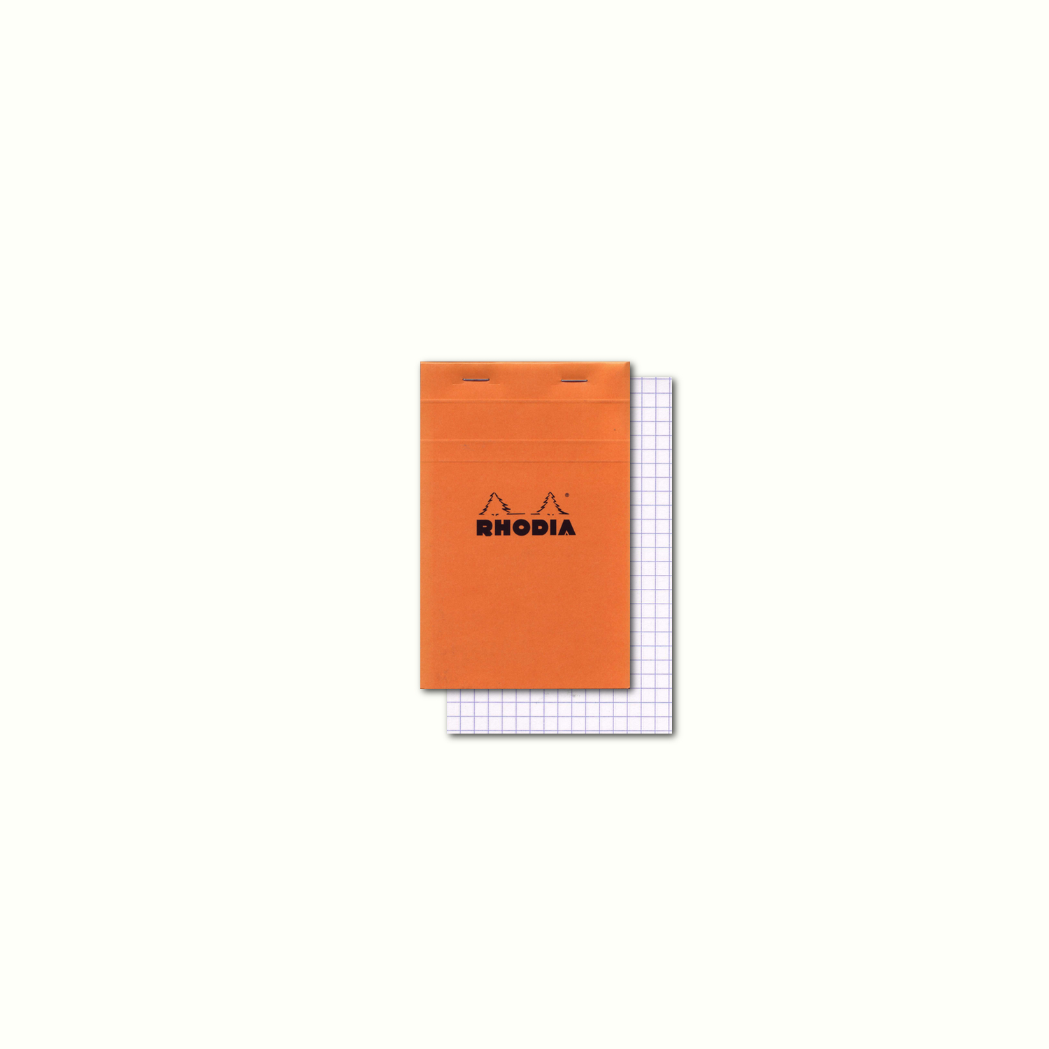 Rhodia Classic Orange Notepad 4X6 Grid