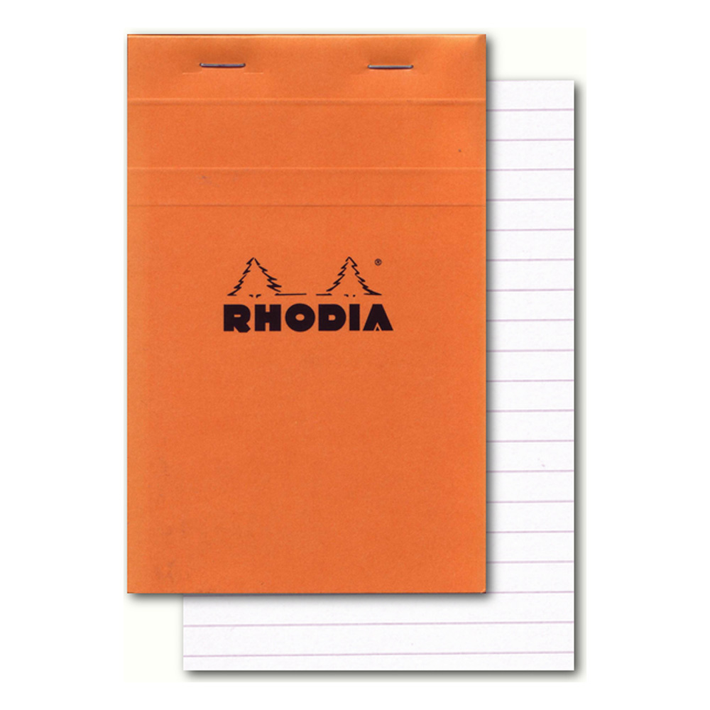 Rhodia Classic Orange Notepad 4.3X6.7 Lined