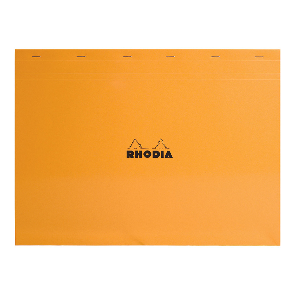 Rhodia Classic Orange Notepad 16.5X12.5 Grid