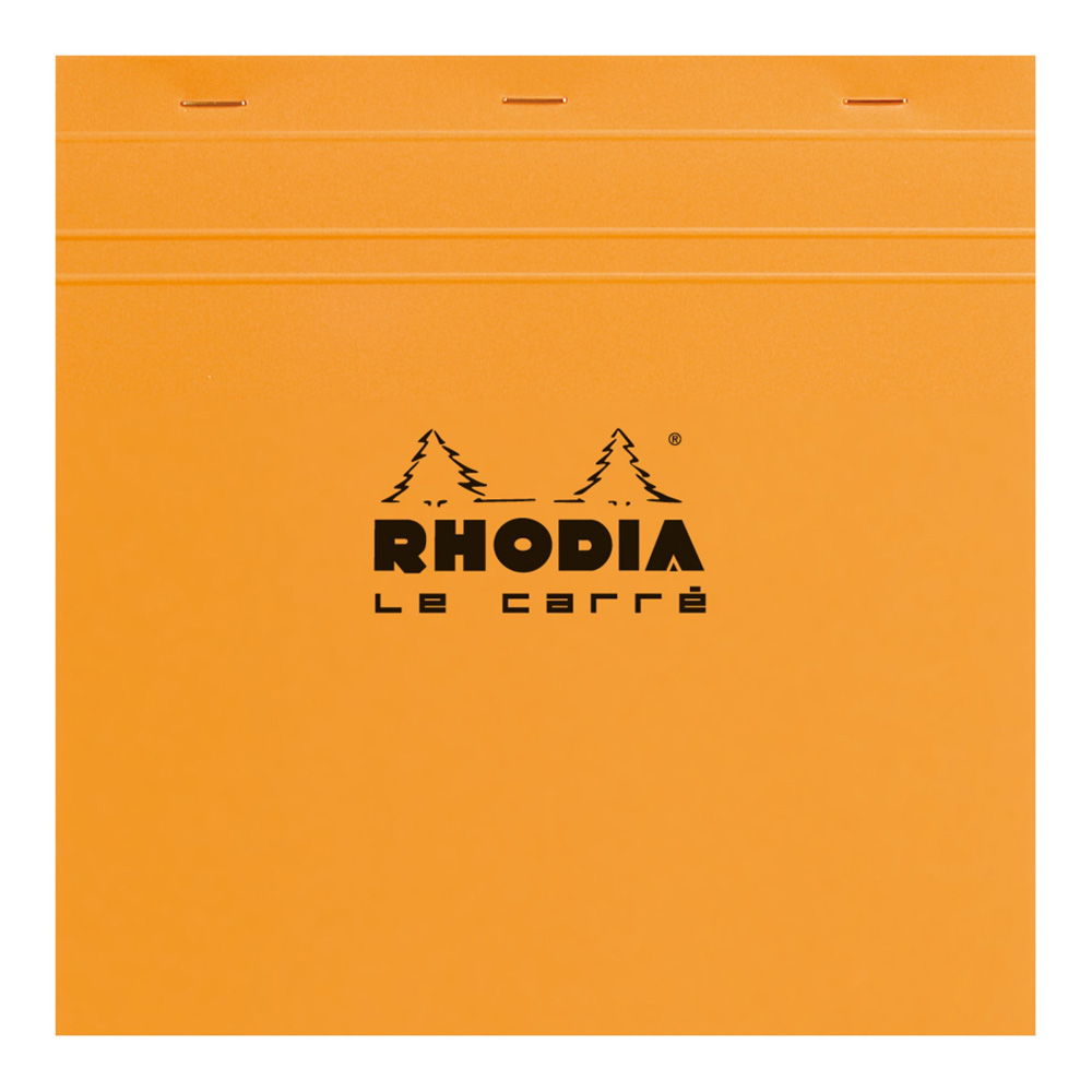Rhodia Classic Orange Notepad 5.75X5.75 Grid