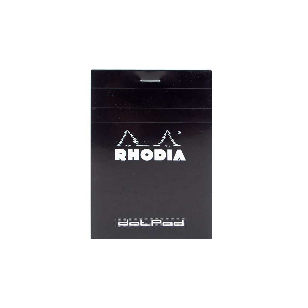 Rhodia Black Dot Pad 3.25X4.75