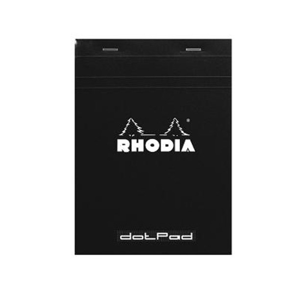 Rhodia Black Dot Pad 6X8.25