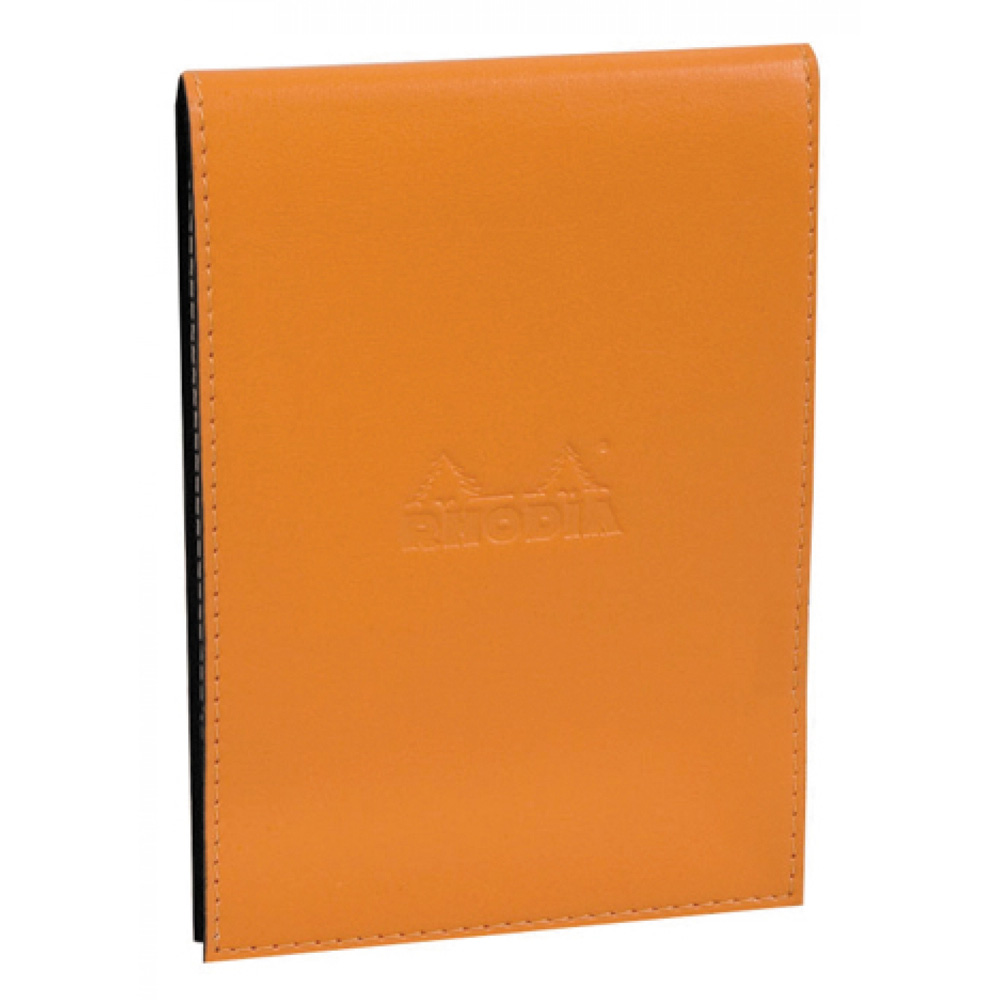 Rhodia Pad Holder And Pad 4.5X6.5 Orange