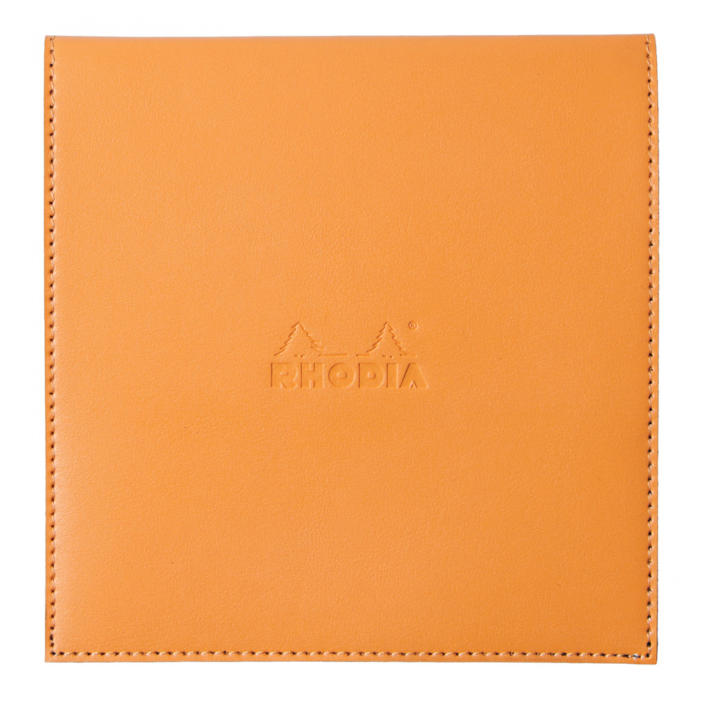 Rhodia Pad Holder W/Pad 8.25X8.25 Orange