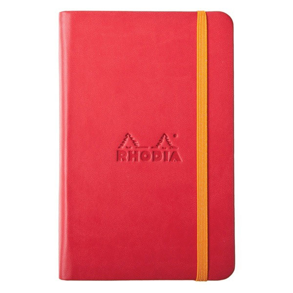 Rhodiarama A6 Plain Notebook Poppy