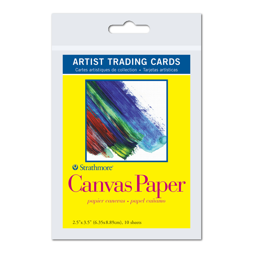 Strathmore Art Trading Cards Canvas Paper