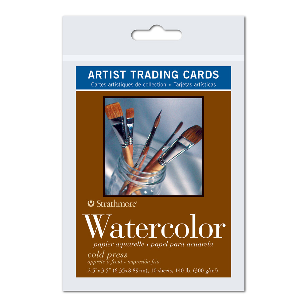 Strathmore Art Trading Cards Watercolor