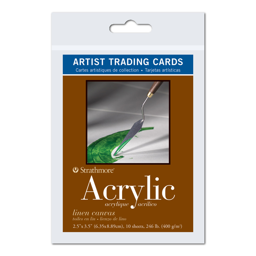 Strathmore Art Trading Cards Acrylic