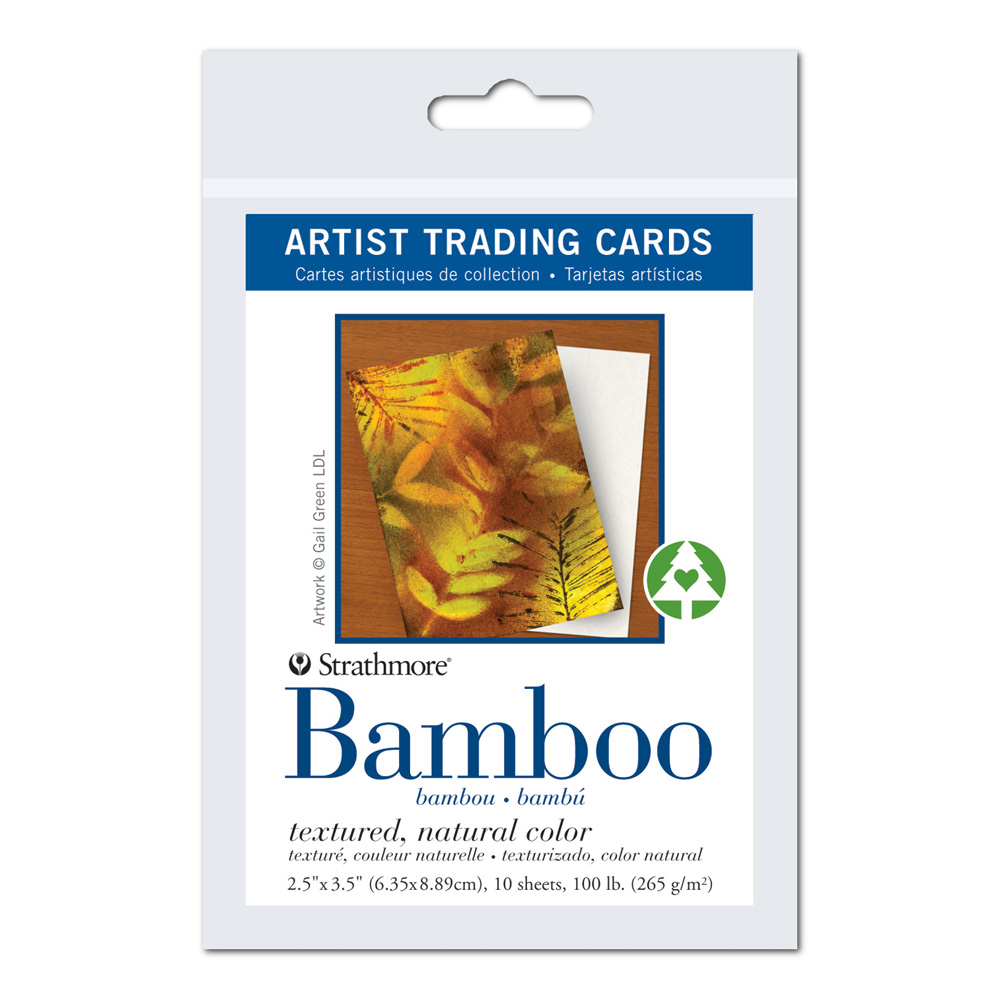 Strathmore Art Trading Cards Bamboo