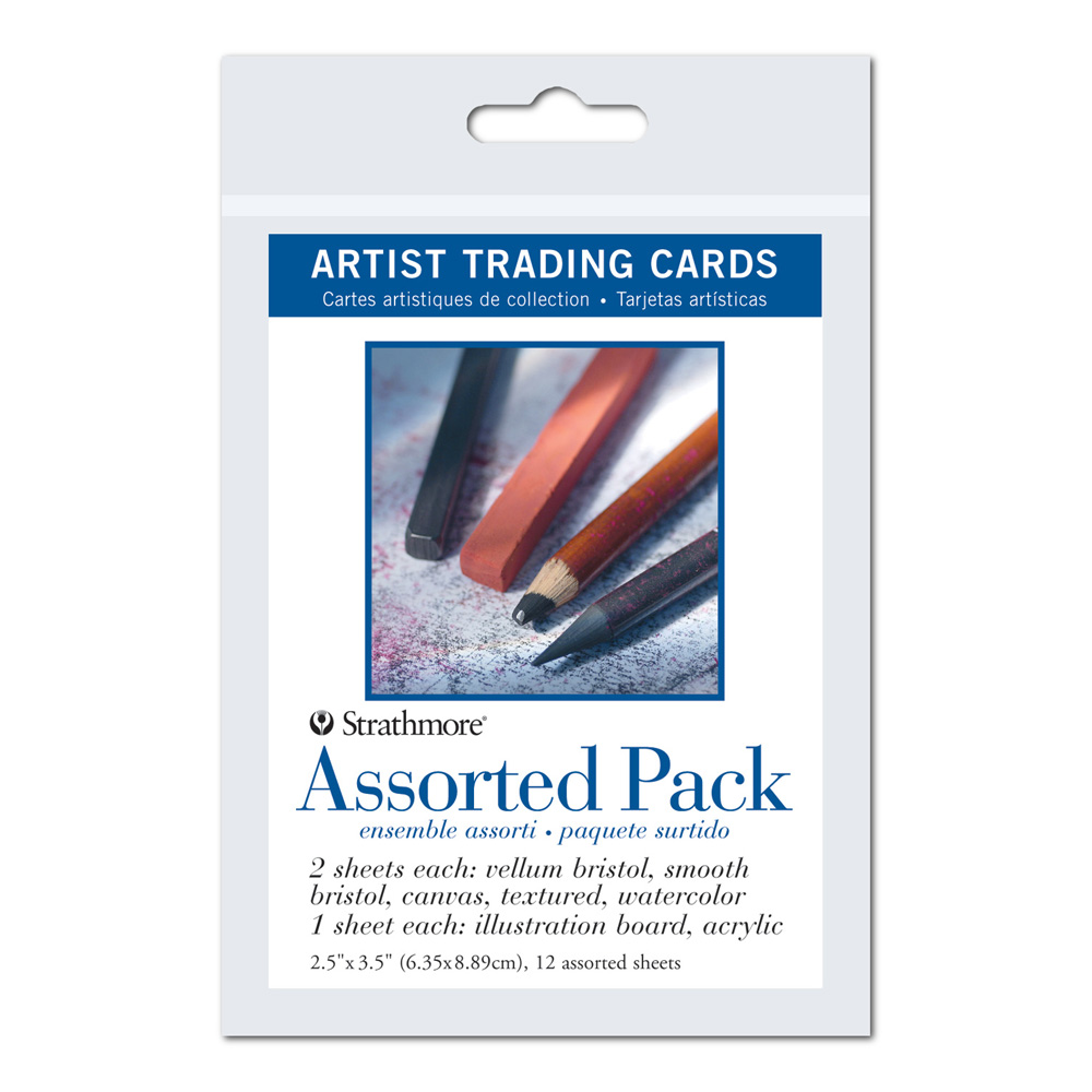 Strathmore Art Trading Cards Assorted Pack
