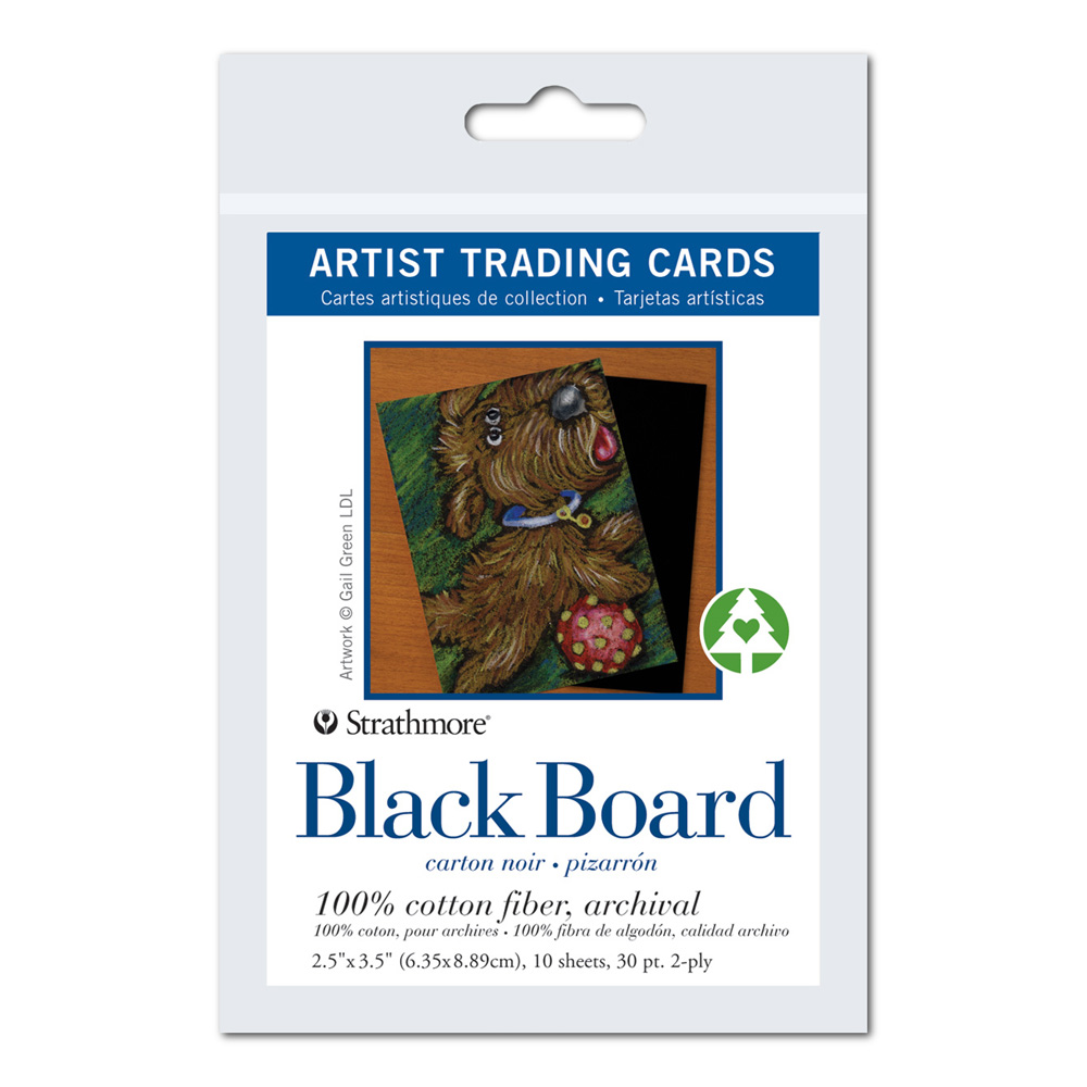 Strathmore Art Trading Cards Black Board