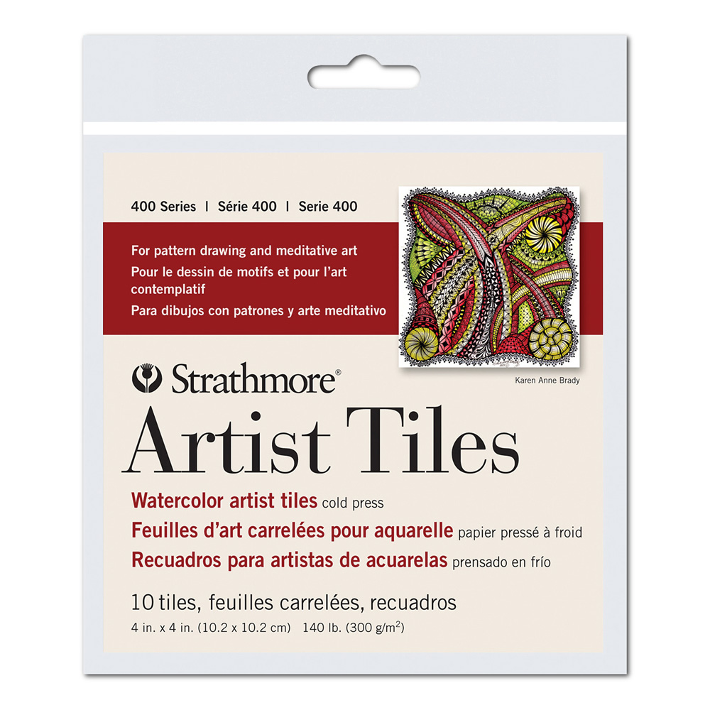 Strathmore Artist Tile Pack Watercolor