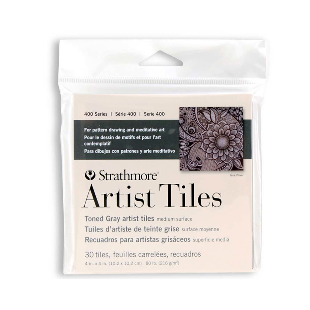 Strathmore Artist Tile Pack Toned Gray
