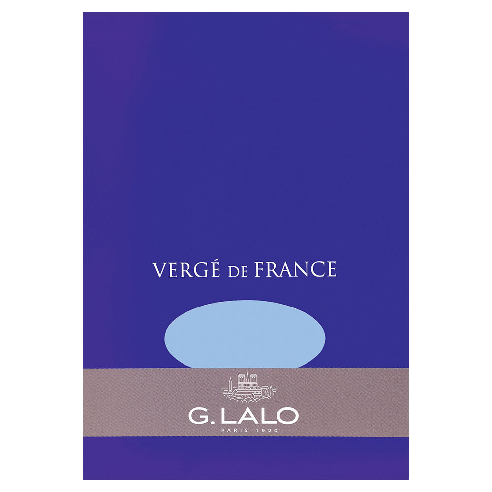 G. Lalo Blue Writing Tablet 5.75X8.25 IN